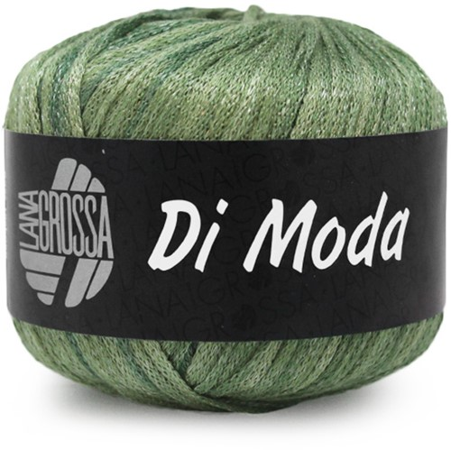 Lana Grossa Di Moda 18 Olive / Antique Violet / Dark Green / Middle Green