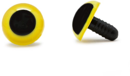 Safety Eyes Yellow 18mm per pair