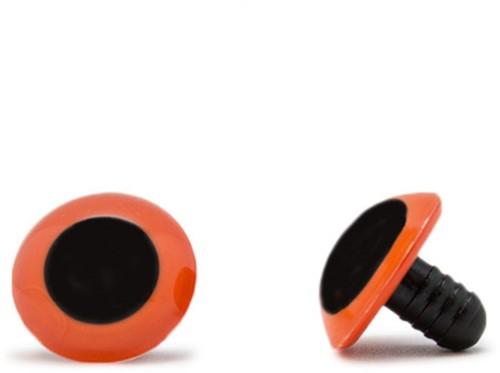 Safety Eyes Orange 18mm per pair
