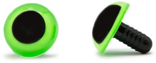 Safety Eyes Green 18mm per pair