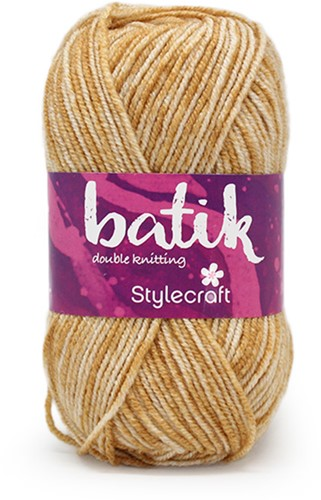 Stylecraft Batik DK 1902 Old Gold