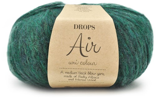 Drops Air Uni Colour 19 Forest-Green