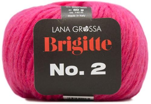 Lana Grossa Brigitte No.2 019 Neon Pink