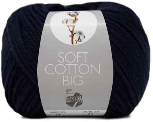 Lana Grossa Soft Cotton Big 19 Dark Blue