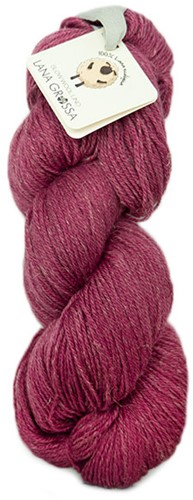 Lana Grossa Slow Wool Lino 19 Dark Pink