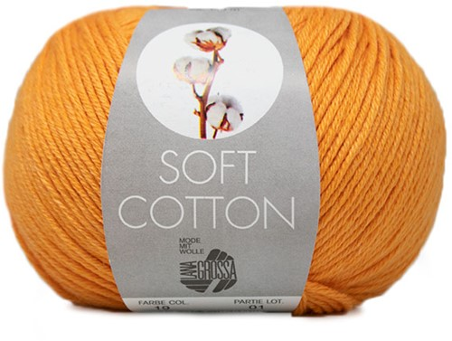 Lana Grossa Soft Cotton 019 Orange