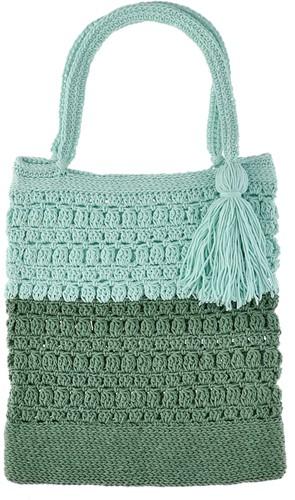 Happy Handmade Bag Crochet Kit 1 Jade Gravel & Aventurine