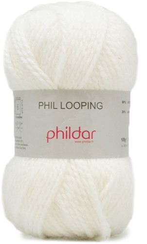 Phildar Phil Looping 1225 Craie