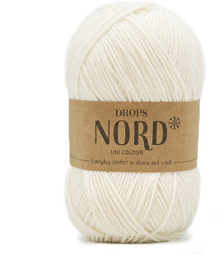 Drops Nord Uni Colour 01 Off-white