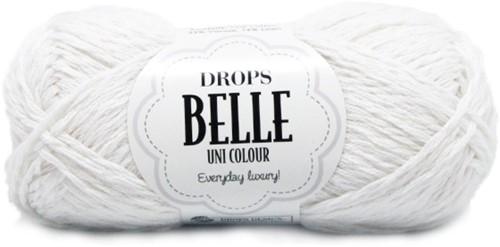 Drops Belle Uni Colour 01 White