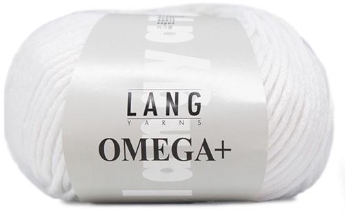 Lang Yarns Omega + 001 White