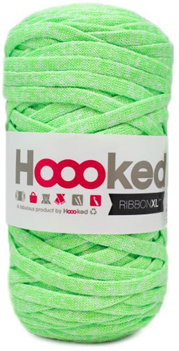Hoooked RibbonXL Neon 1 Electric Lime