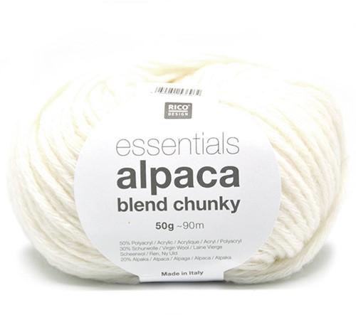Rico Essentials Alpaca Blend Chunky 1 Creme