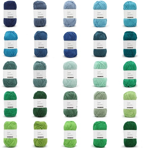 Yarn and Colors Must-Have 25 Colors Yarn Pack 2 Oceania