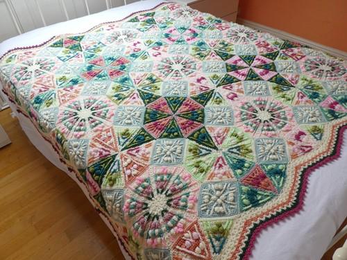 Kaleidoscope Blanket CAL Yarn Kit 2 Old Rose