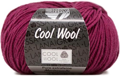 Lana Grossa Cool Wool 2012 Bordeaux