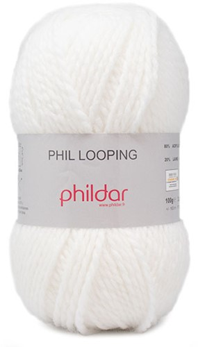 Phildar Phil Looping 2016 Blanc