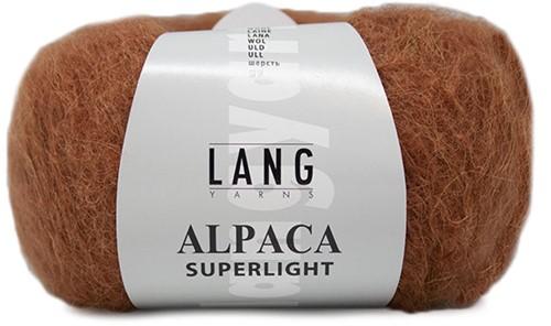 Alpaca Superlight Sweater Knit Kit 1 L/XL Rust