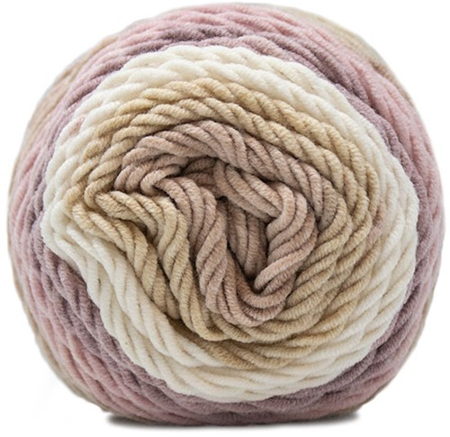 Delicious Striped Cushion Crochet Kit 1 Forest Fruit Vanilla
