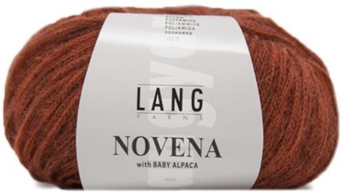 Novena Cable Cardigan Knit Kit 1 L Red