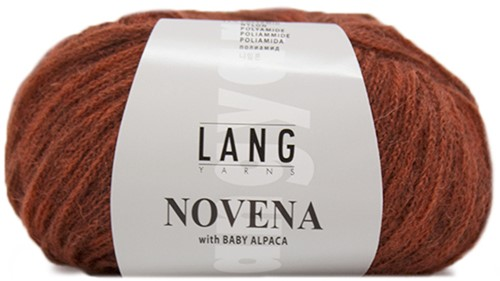 Novena Cable Cardigan Knit Kit 1 M Red