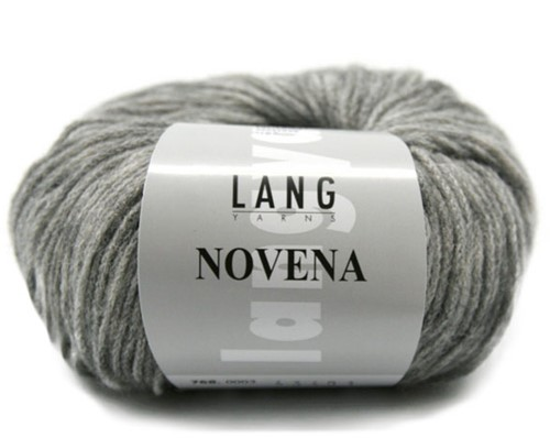 Novena Cable Cardigan Knit Kit 2 M Light Grey
