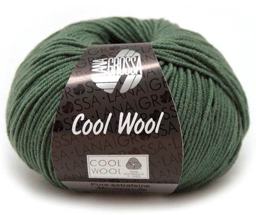 Lana Grossa Cool Wool 2021 Dark Gray Green