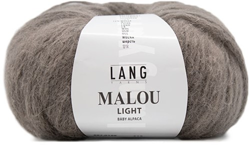 Malou Light Cable Cardigan Knit Kit 2 L/XL Stone