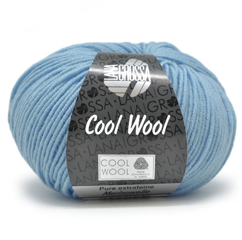 Lana Grossa Cool Wool 2031 Sky Blue
