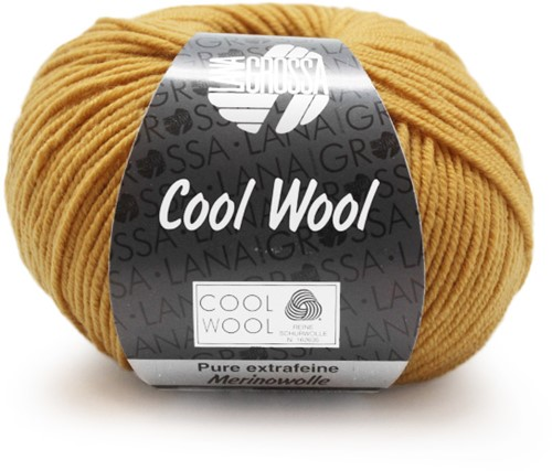 Lana Grossa Cool Wool 2035 Honey Yellow