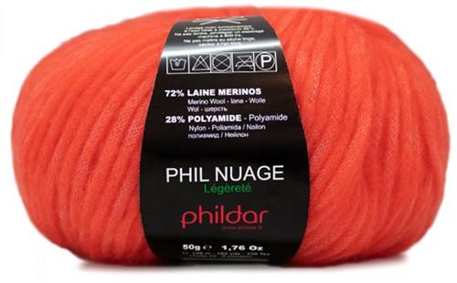 Phildar Phil Nuage 2038 Vermillon