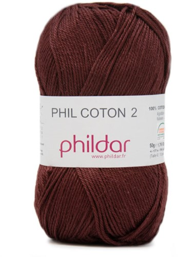 Phildar Phil Coton 2 2038 Bordeaux