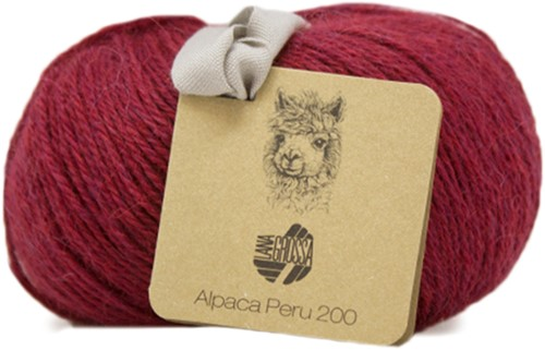 Lana Grossa Alpaca Peru 200 203 Purple Red