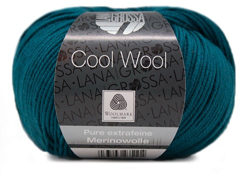 Lana Grossa Cool Wool 2049 Blue Petrol