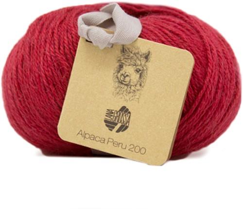 Lana Grossa Alpaca Peru 200 204 Red