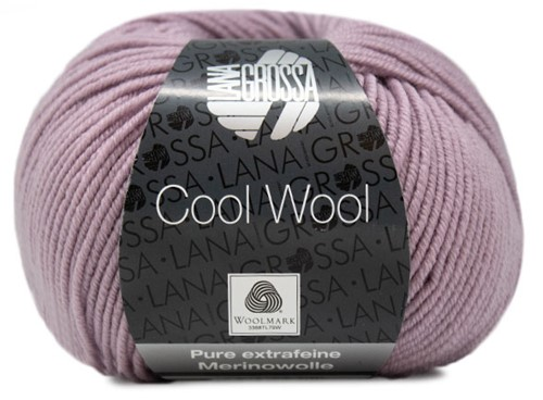 Lana Grossa Cool Wool 2058 Mauve