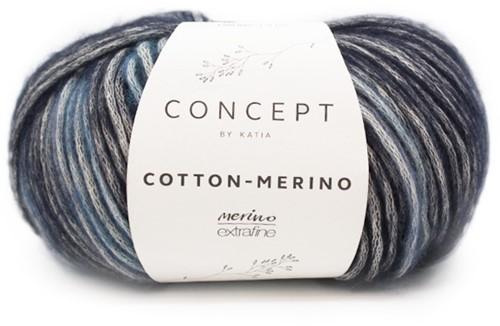 Katia Cotton-Merino Plus 205 Blue