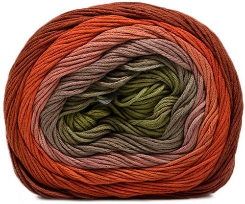 Katia Harmonia 205 Khaki / Brown / Orange