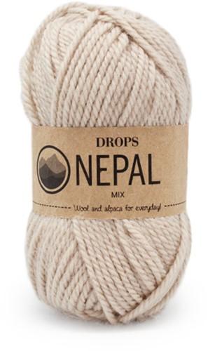 Drops Nepal Mix 206 Light Beige