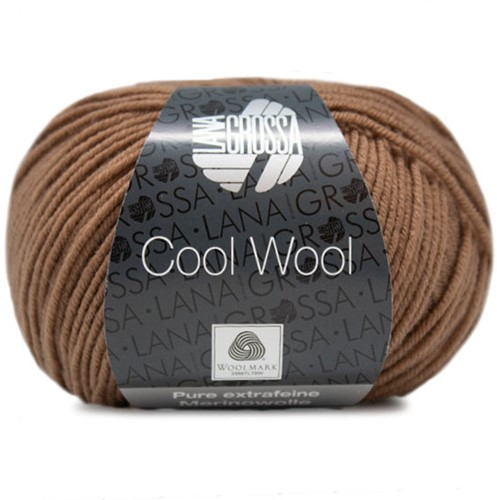 Lana Grossa Cool Wool 2061 Nougat