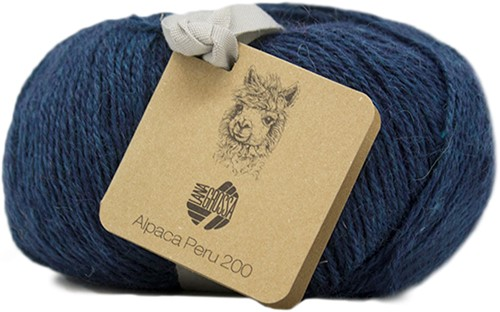 Lana Grossa Alpaca Peru 200 207 Dark Blue