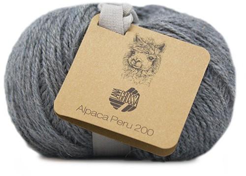 Lana Grossa Alpaca Peru 200 208 Middle Grey