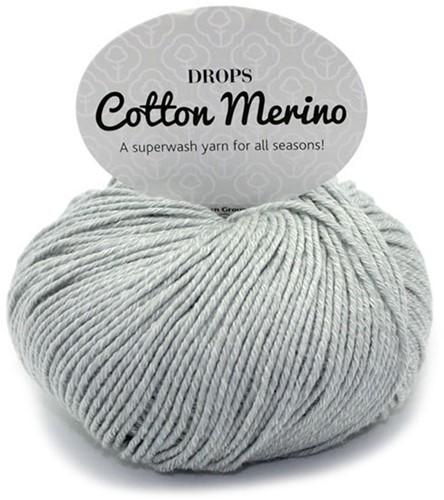 Drops Cotton Merino Uni Colour 20 Lichtgrijs