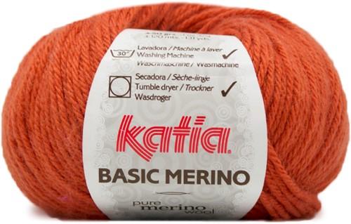 Katia Basic Merino 20 Deep orange