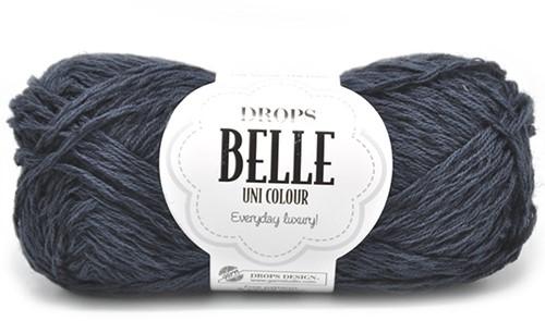 Drops Belle Uni Colour 20 Navy-blue