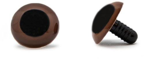 Safety Eyes Brown 20mm per pair