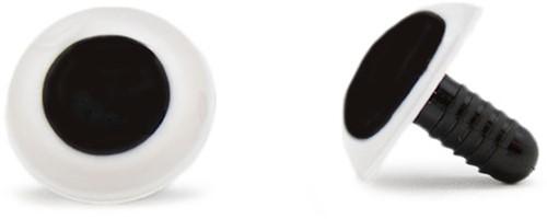 Safety Eyes White 20mm per pair