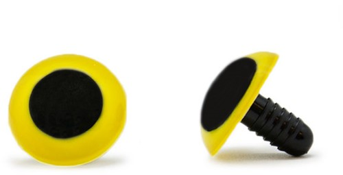 Safety Eyes Yellow 20mm per pair