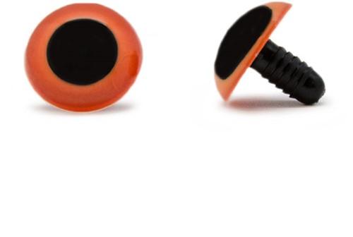 Safety Eyes Orange 20mm per pair