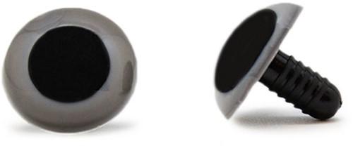 Safety Eyes Grey 20mm per pair